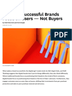 The Most Successful Brands Focus on Users — Not Buyers