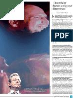 Interview Nicolas Baygert, La Libre Belgique, 5 avril 2018