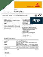 Sikaflex® Construction PLUS_PDS