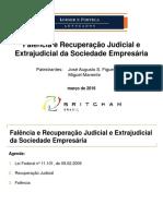 230316_Falência e Recuperação Judicial e Extrajudicial da Sociedade - Miguel Manente - Loeser e Portela Advogados