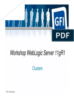 04 - Workshop WebLogic Server 11gR1 - Clusters