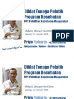 Materi Manajemen Diklat (TPPK)