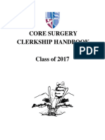 Surgery Handbook Class of 2017