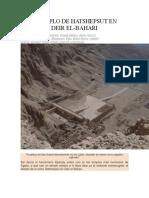 l Templo de Hatshepsut en Deir