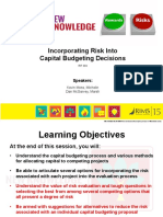 Captial Budgeting With Risk Final (3)