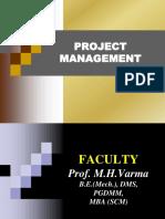 Project Mgt- MMS Sem.iv - Mid Term PPT's (1)