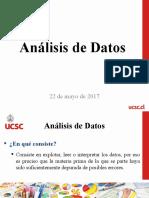Tema 9 - Análisis de Datos