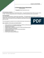 Solaris 10 Intermediate System Administration