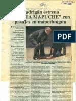 Radrigan Medea Mapuche
