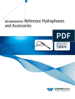 Teledyne RESON Hydrophones Catalogue 2016
