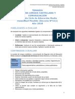 Temario-lenguaje Cm2 Mf 2018