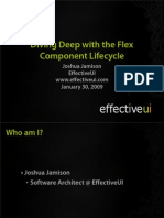 Diving Deep, Component Life Cycle