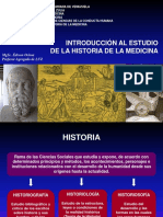 Tema N° 1. Introducción a la Historia de la Medicina (2016)