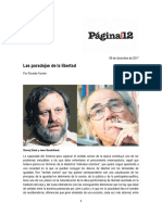 Las Paradojas de La Libertad Ricardo Forster