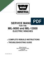 Warn Manua for Repair of Mil 12000l 715