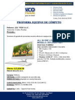 Proforma All in One - Versac - 06-04-2018
