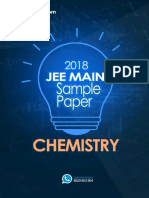 Jee Main 2018 Chemistry Sample Question Paper