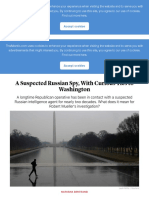 A Suspected Russian Spy, With Curious Ties to Washington - The Atlantic