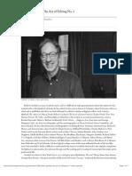 Paris Review - Robert Gottlieb, The Art of Editing No. 1