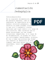Documentación Pedagógica