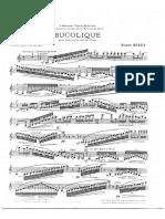Bucolique Clarinete