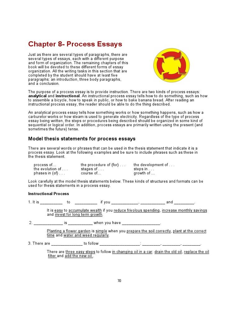 process essay pdf  essays  paragraph