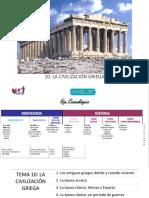 2016-17 Tema 10. La Civilización Griega
