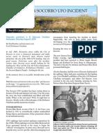 1964 Sorocco UFO Incident; Paul Harden