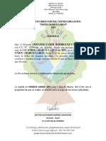 Certificado- Profe Armando