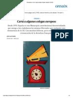 Nacionalismo_ Carta a algunos colegas europeos _ Opinión _ EL PAÍS