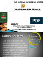 Auditoria Financiera Privada