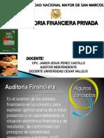 Auditoria Financiera Privada