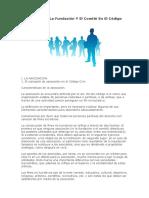 Conceptos de Asociacion ,Comite Fundacion