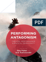 0 Tony Fisher, Eve Katsouraki Eds. Performing Antagonism Theatre, Performance & Radical Democracy