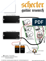Schecter Stilletto Studio Schematics 4 5 6 8