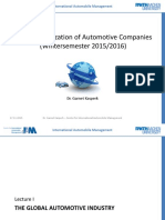 1 - The Global Automotive Industry