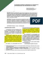 (1994) a Administração de Recursos Materiais- Importância Do Enfoque de Custos e Responsabilidades Dos Profissionais de Saúde