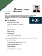 New Resume Kik11