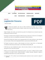 Legislación Panama – Informática Forense Colombia