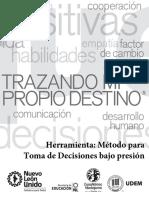 Herramienta Metodo Para Toma de Decisiones Bajo Presion 2