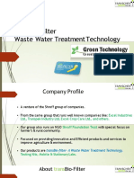 TransBio-filter Sewage Treatment Plant Presentation