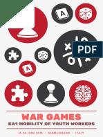 War Games Infoletter