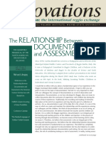 Relation Between Documentation and Assessment, CARLA RINALDI