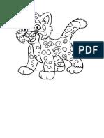 Baby Jaguar Colorear