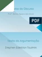 Teoria Da Argumentação - Toulmin