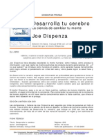Dossier Desarrolla Tu Cerebro- Joe Dispenza