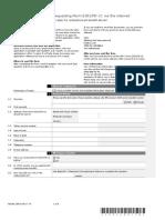 Aanvragen Formulier e301 via Internet Engels