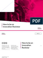 How to Be an Innovation Rockstar