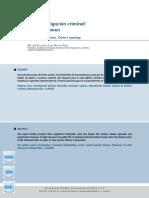Revista Criminalidad. Casos de Investigacion Criminal Tipologia Del Crimen