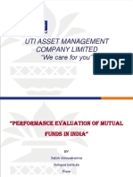 UTI Project on Banking Sector